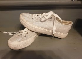 Pimkie Lace Shoes silver-colored