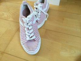 Primark Zapatos brogue blanco-rosa