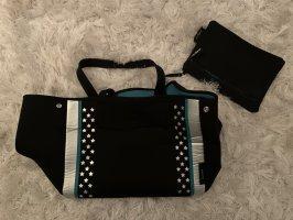 Stofftasche + kleine Tasche