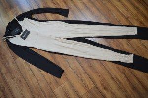 Stone Basic Strappy Plunge Jumpsuit 36 Pretty Little Think neu