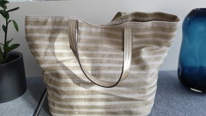 Accessorize Canvas Bag gold-colored-oatmeal