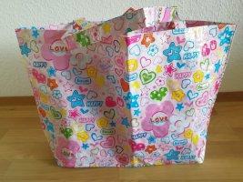Strandtasche Shopper Candygirl Love Happy bunte Sommertasche