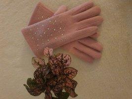 H&M Gants doublés rose clair