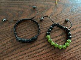 Bracelet noir-vert