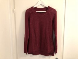 Strauss Innovation Pullover 36/38 S Pulli rot glitzer wie neu top