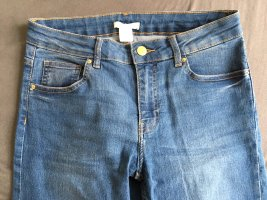 H&M Stretch Jeans steel blue-cornflower blue