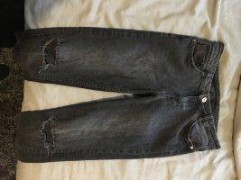 H&M Stretch Trousers black