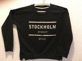 Atmosphere Norwegian Sweater black-white polyester