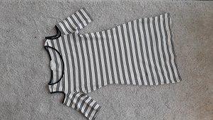 Streifen-Kleid mit Cut-Outs