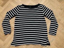 Weekend Max Mara Stripe Shirt dark blue-white cotton