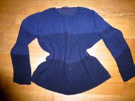 STRENESSE Bändchengarn Pullover 38 grau