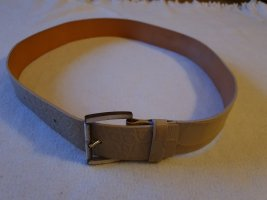 Strenesse Gabriele Strehle Leather Belt oatmeal
