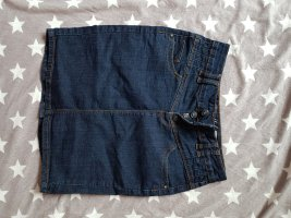 Fresh made Gonna di jeans blu-blu scuro