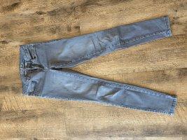 Stretch-Jeans grau von only