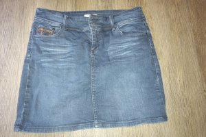 Stretch-Jeans-Minirock (Promod)