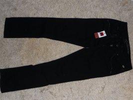Stretch-Jeans Tahila, Slim Fit, schwarz