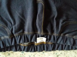 Legging staalblauw-donkerblauw Katoen