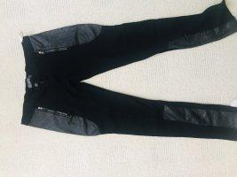 Pantalone da equitazione nero Lycra