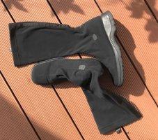 jollys Bottes stretch noir nylon