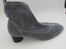 Stretch Stiefelette silber metallic Zara 41