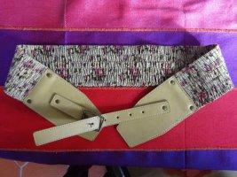 Cintura in tessuto multicolore