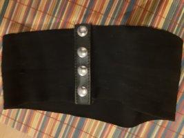 Stoffen riem zwart Lycra