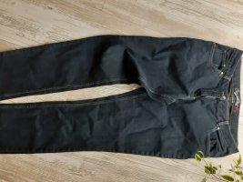 Jeansy ze stretchu czarny-niebieski
