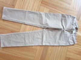 Alba Moda Stoffen broek zandig bruin Gemengd weefsel