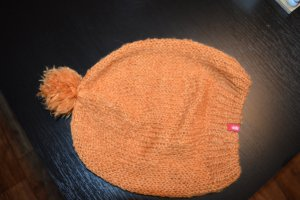 Esprit Knitted Hat dark orange