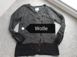 Broadway Giacca di lana nero-grigio scuro