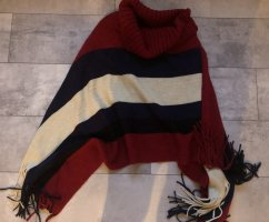 Knitted Poncho multicolored