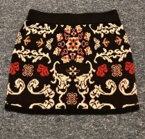 C&A Yessica Knitted Skirt red-dark blue