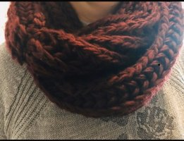 Amisu Knitted Scarf bordeaux