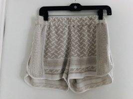 Lala Berlin Shorts bianco-oro