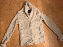 American Eagle Outfitters Coarse Knitted Jacket natural white
