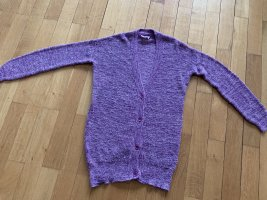 American Vintage Knitted Cardigan grey lilac