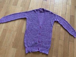 American Vintage Gebreide cardigan grijs-lila