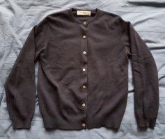 Burberry Knitted Cardigan dark blue cashmere