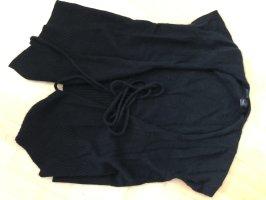 Esprit Gebreid jack met korte mouwen zwart