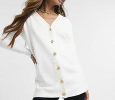 River Island Cardigan in maglia bianco