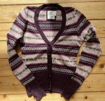 H&M Cardigan norvégien multicolore laine angora
