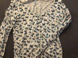 Giacca-camicia bianco-azzurro