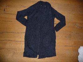 Tchibo / TCM Manteau en tricot rouge foncé-bleu foncé coton
