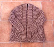 Best Connections Veste tricotée en grosses mailles vieux rose acrylique