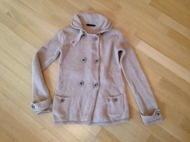 Gas Coarse Knitted Jacket cream wool