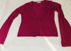 Hennes Collection by H&M Sweter bez rękawów z cienkiej dzianiny różowy