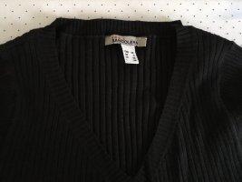 Bandolera Robe en maille tricotées noir