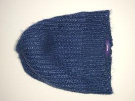 Mexx Sombrero de punto azul oscuro