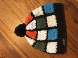 Barts Chapeau en tricot multicolore