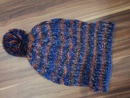 Tommy Hilfiger Denim Pointed Hat orange-steel blue